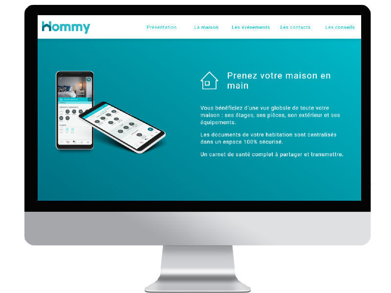 Hommy Home Page